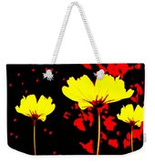 Graphic Three Weekender Tote Bag