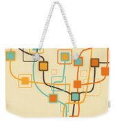 Graphic Tree Pattern Weekender Tote Bag
