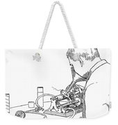 Graphophone Weekender Tote Bag