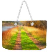 Grass And Shadows Weekender Tote Bag