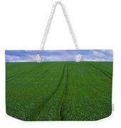 Grass Field Weekender Tote Bag