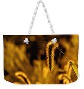 Grass In Golden Light Weekender Tote Bag