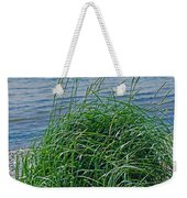 Grass On The Beach Weekender Tote Bag