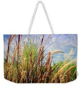 Grasses Standing Tall Weekender Tote Bag