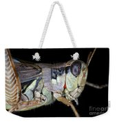 Grasshopper With Parasitic Mite Weekender Tote Bag