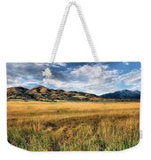 Grassy Plains And Ancient Dunes Weekender Tote Bag