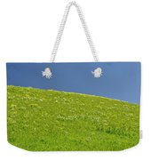 Grassy Slope View Weekender Tote Bag