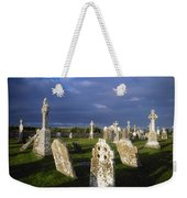 Graveyard, Clonmacnoise, County Offaly Weekender Tote Bag
