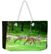 Grazing Doe Weekender Tote Bag