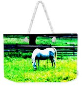 Grazing Horse Weekender Tote Bag by Bill Cannon