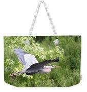 Great Blue Flight Weekender Tote Bag