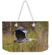 Great Blue Heron In Flight II Weekender Tote Bag