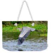 Great Blue Heron Inflight Weekender Tote Bag