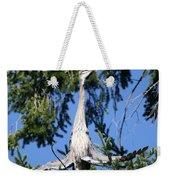 Great Blue Heron Meditation Pacific Northwest Weekender Tote Bag