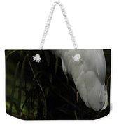 Great Egret 3 Weekender Tote Bag