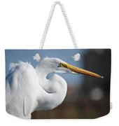 Great Egret Portrait Weekender Tote Bag