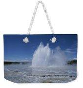 Great Fountain Geyser Seen Weekender Tote Bag