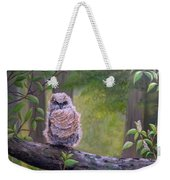 Great Horned Owlette Weekender Tote Bag