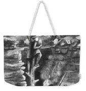 Great Lakes: Ancient Miner Weekender Tote Bag