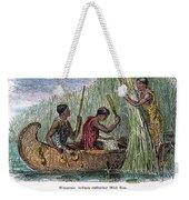 Great Lakes: Canoe, 19th C Weekender Tote Bag