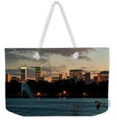 Great Pond Fountain Weekender Tote Bag