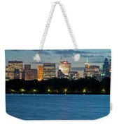 Great Pond Skyline Weekender Tote Bag