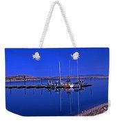 Great Salt Lake Antelope Island Marina Weekender Tote Bag