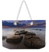 Great South Bay Sunset Weekender Tote Bag