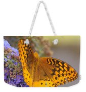 Great Spangled Fritillary Butterfly Weekender Tote Bag