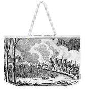 Great Swamp Fight, 1675 Weekender Tote Bag