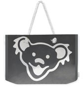 Greatful Dead Dancing Bear In Negative Weekender Tote Bag