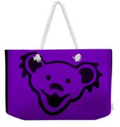Greatful Dead Dancing Bear In Purple Weekender Tote Bag