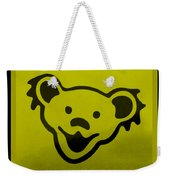 Greatful Dead Dancing Bear In Yellow Weekender Tote Bag