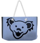 Greatful Dead Dancing Bears In Cyan Weekender Tote Bag