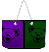 Greatul Dead Dancing Bears In Muti Colors Weekender Tote Bag