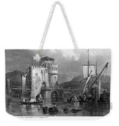 Greece: Negropont, 1833 Weekender Tote Bag by Granger