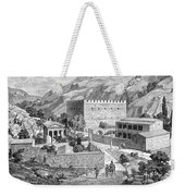 Greece: Road To Athens Weekender Tote Bag