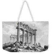 Greece: The Parthenon 1833 Weekender Tote Bag by Granger