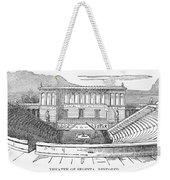 Greece: Theater Of Segesta Weekender Tote Bag