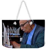 Greek Artist Mykonos Weekender Tote Bag