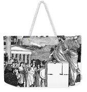 Greek Assembly Weekender Tote Bag
