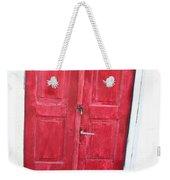 Greek Door Weekender Tote Bag