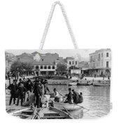 Greek Immigrants Fleeing Patras Greece - America Bound - C 1910 Weekender Tote Bag