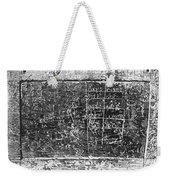 Greek Multiplication Table Weekender Tote Bag