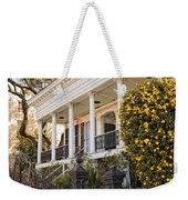 Greek Revival And The Tiny Pink Shoe - Garden District New Orleans Weekender Tote Bag