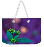 Green And Turquoise Weekender Tote Bag
