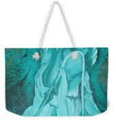 Green Angel Weekender Tote Bag