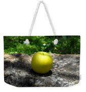 Green Apple Weekender Tote Bag