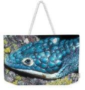 Green Arboreal Alligator Lizard Weekender Tote Bag