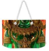 Green Buddha Weekender Tote Bag